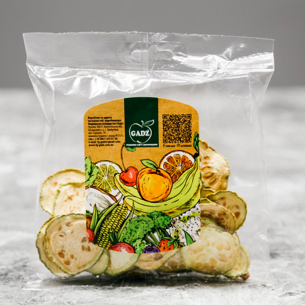 Zucchini dried with salt 30 g