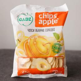 Чіпси яблучні солодкі
